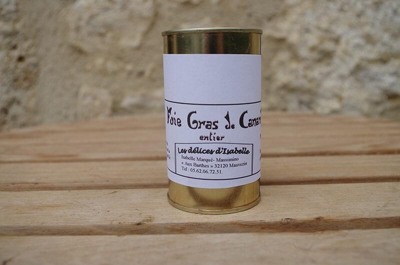 Foie gras de canard 120g