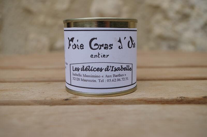 Foie gras d'oie 100g