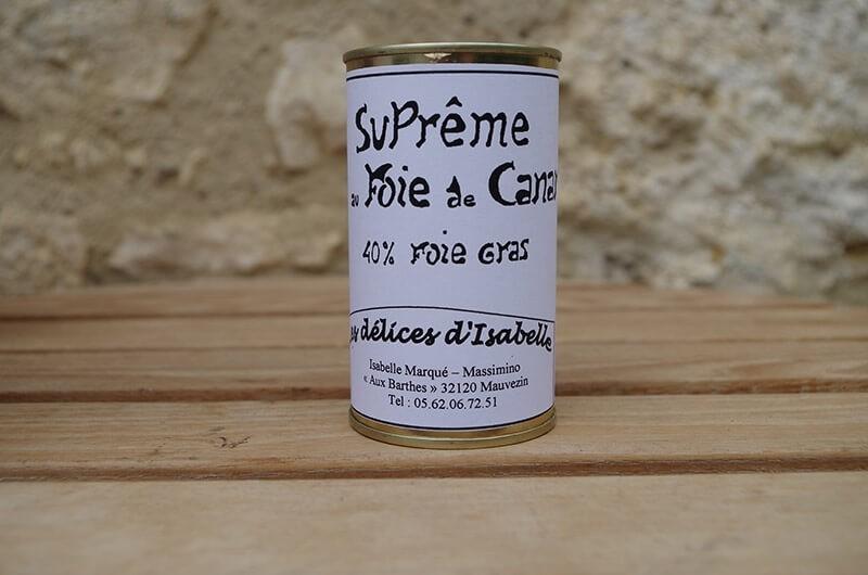 Supreme au Foie de canard