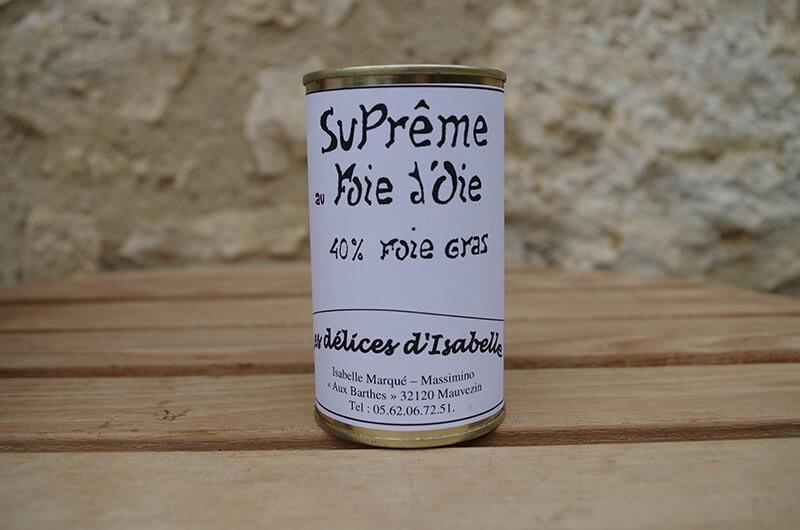 Supreme au Foie d'oie