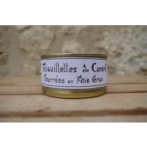 Aiguillettes de canard fourrées au foie gras